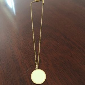 Kate Spade Gold Idiom Necklace